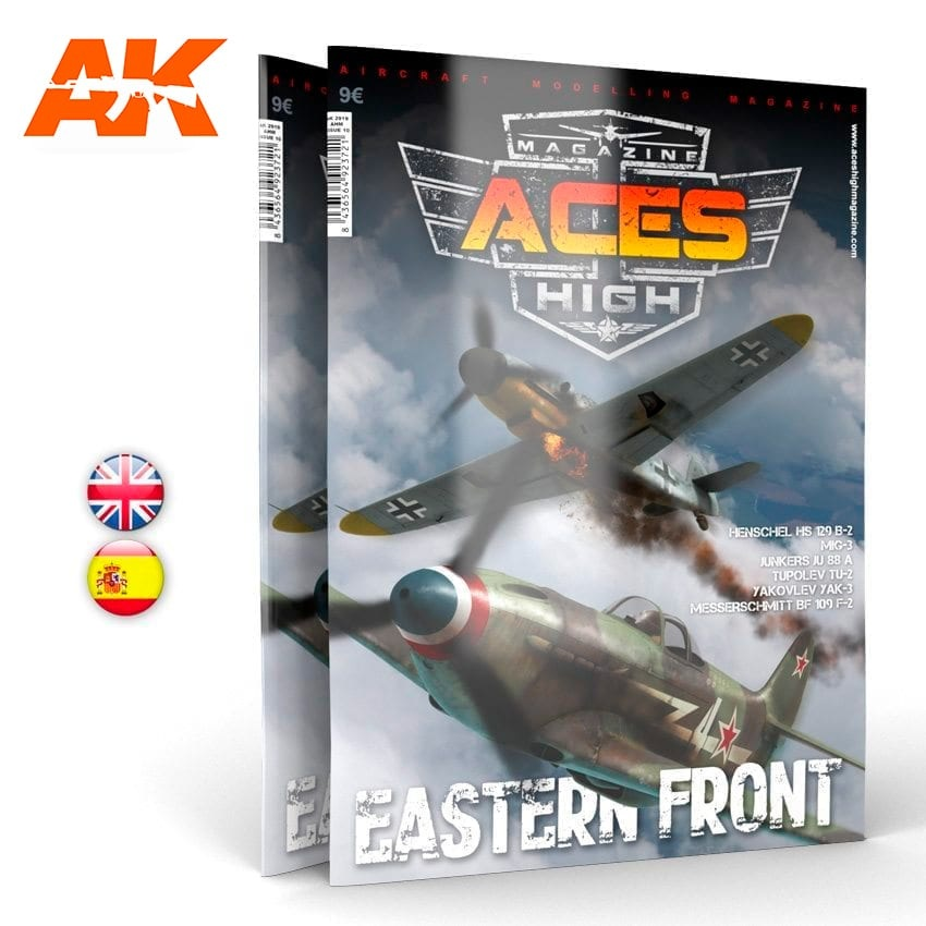 Aces High Issue 10. Aces High Eastern Front - English