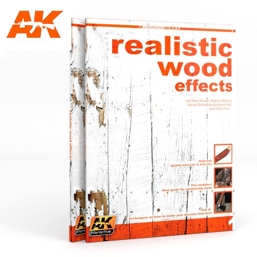 Learning Series Realistic Wood Effects (Ak Learning Series Nº1) English