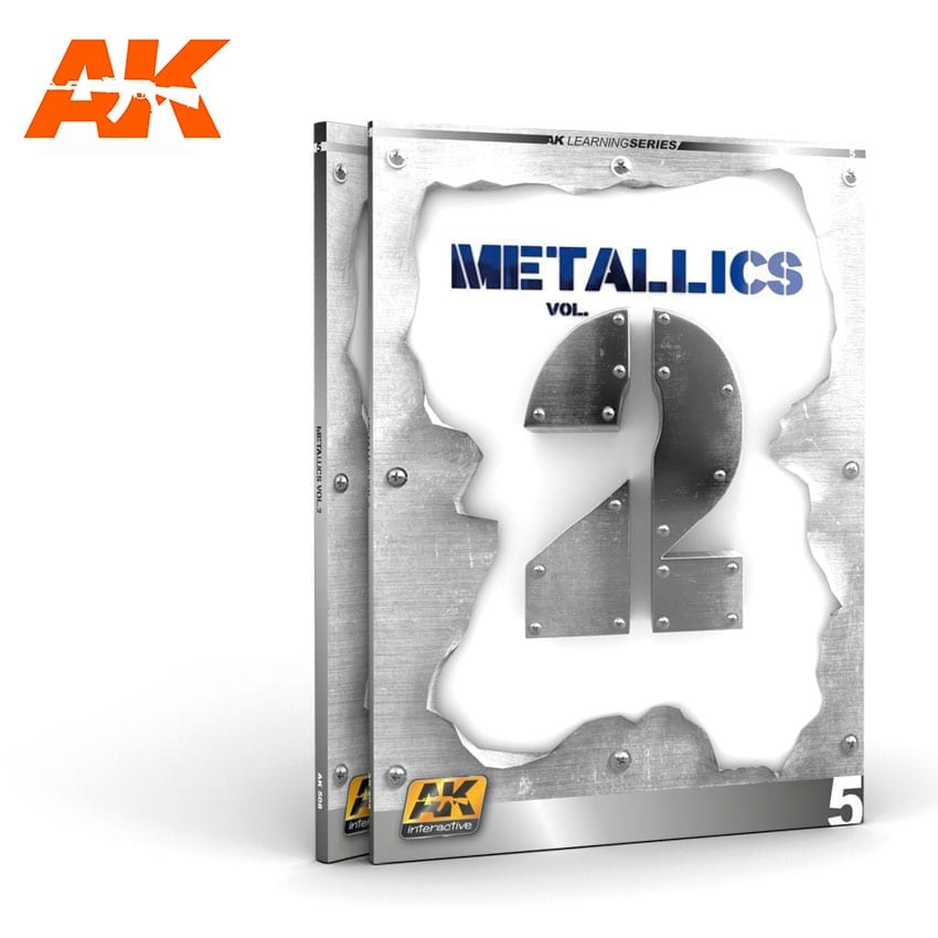 Learning Series Metallics Vol 2 (Ak Learning Series Nº 5) English