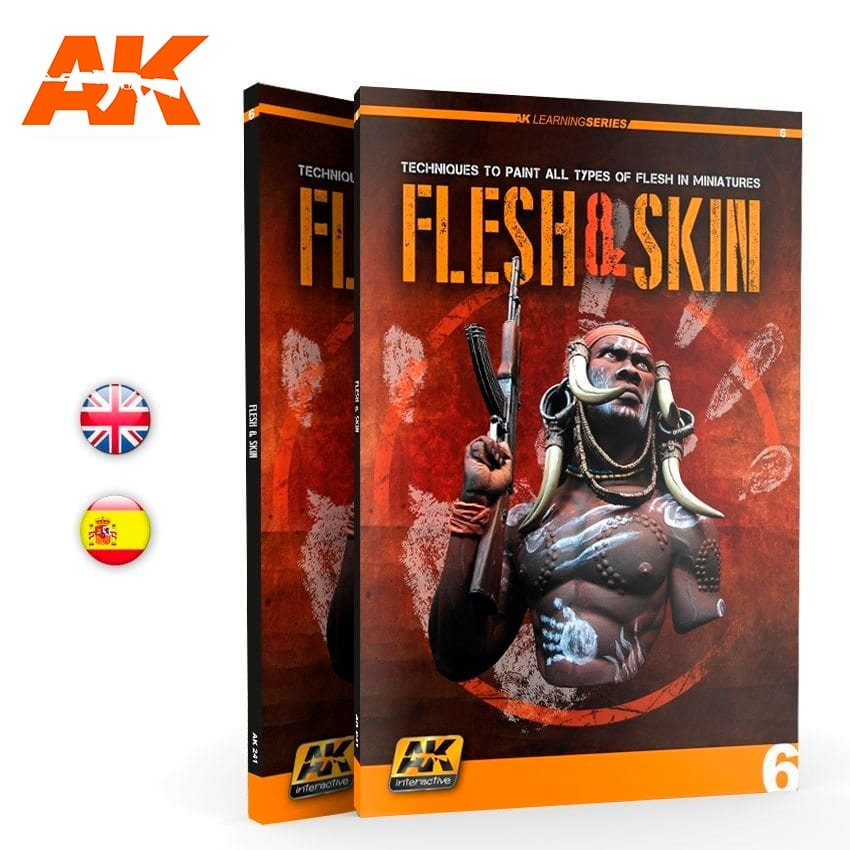 Learning Series Flesh And Skin (Ak Learning Series Nº6) English