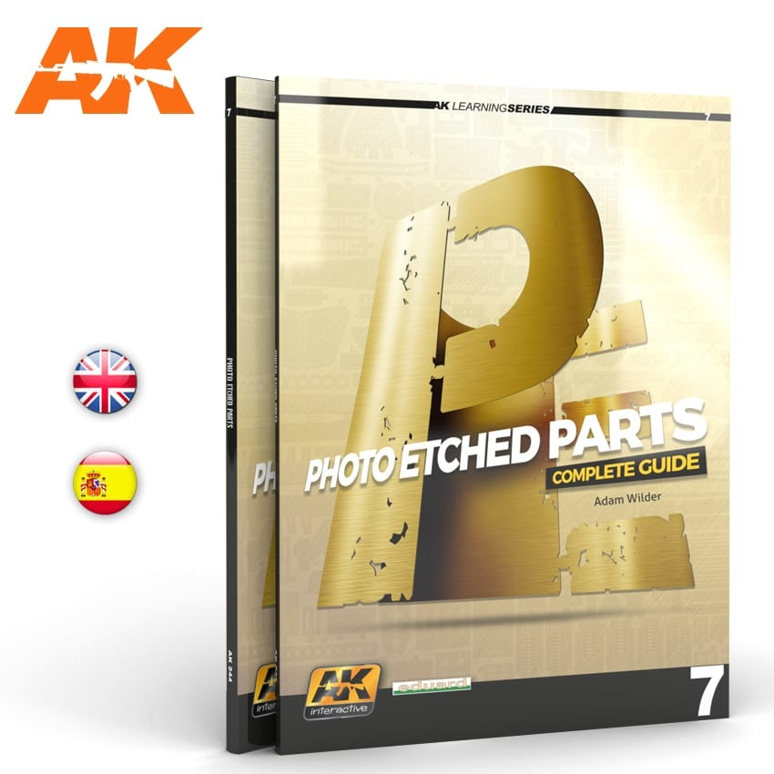 Learning Series Photoetch Parts (Ak Learning Series Nº7) English