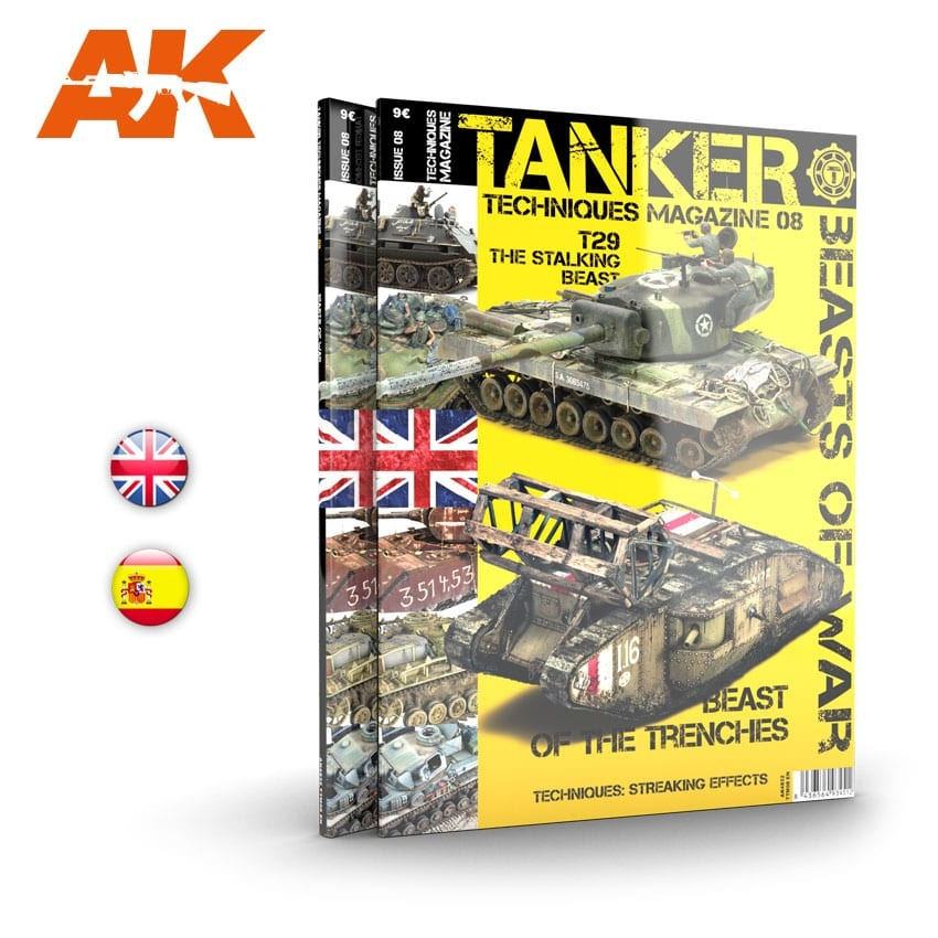 Tanker Magazine Tanker 08 Beasts Of War - English