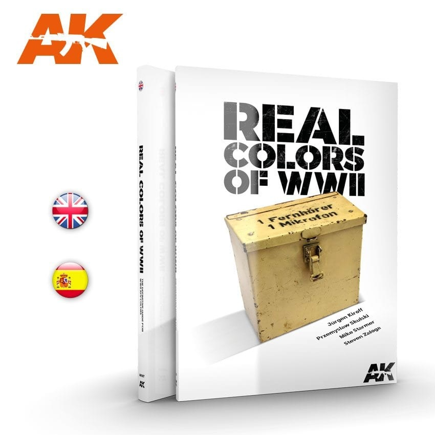 AK-Interactive Wwii Real Colors - English