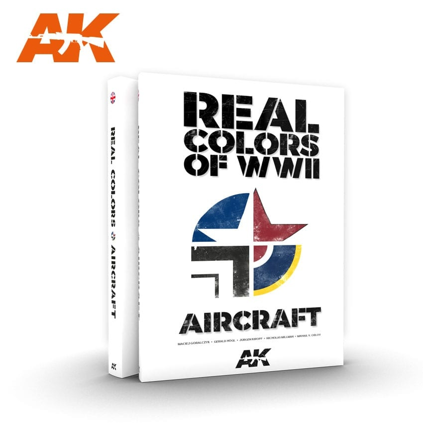 AK-Interactive Real Colors Of Wwii Aircraft -English - AK-290