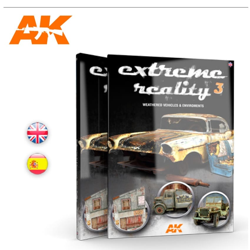 AK-Interactive Extreme Reality 3 - Weathered Vehicles And Environments - English