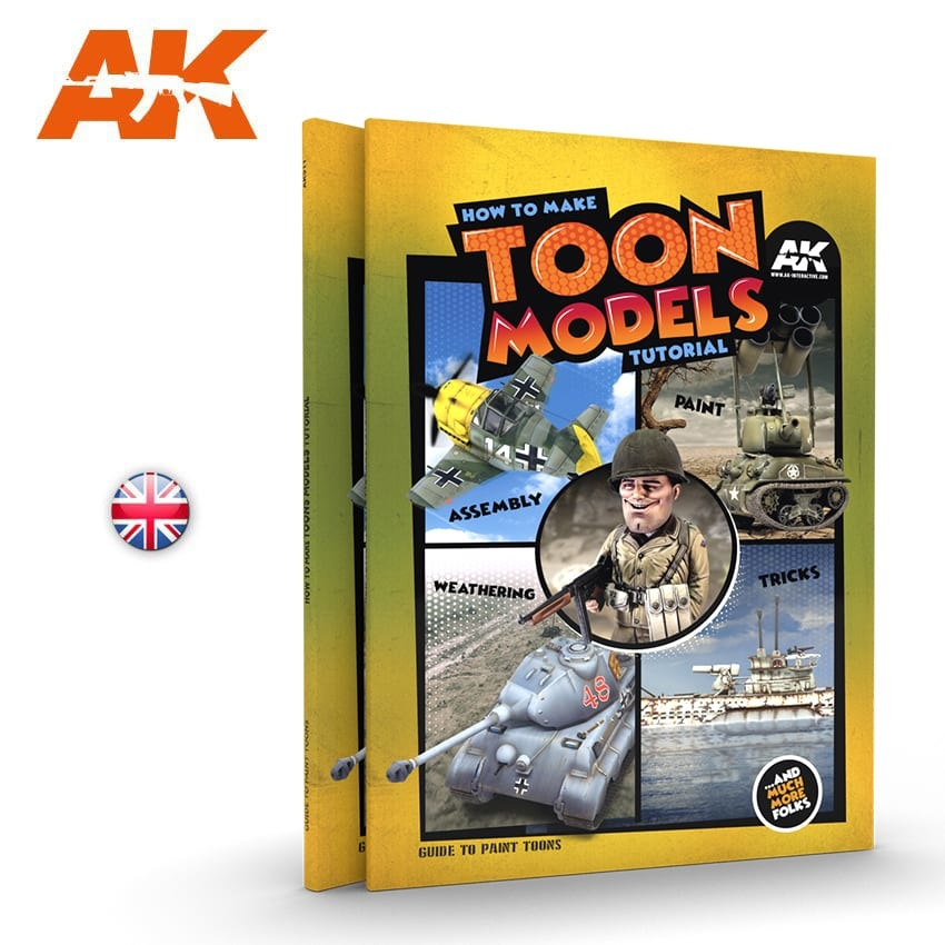 AK-Interactive How To Make Toon Models Tutorial - English