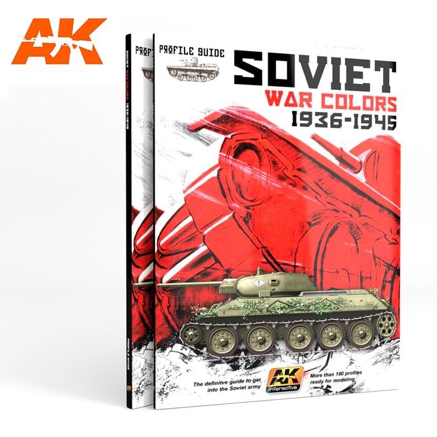 AK-Interactive Soviet War Colors Profile Guide - English