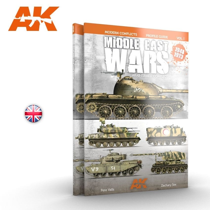 AK-Interactive Middle East Wars 1948-1973 Profile Guide Vol.1 - English
