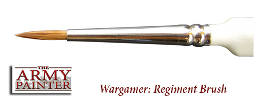The Army Painter Wargamer Brush - Regiment - The Army Painter - TAP BR7007