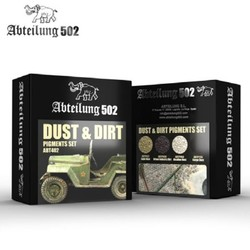 Dust & Dirt Pigment Set -Abteilung 502 - ABT402