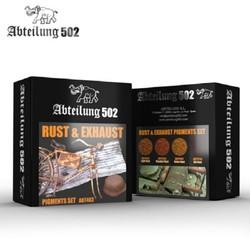 Rust & Exhaust Pigment Set -Abteilung 502 - ABT403