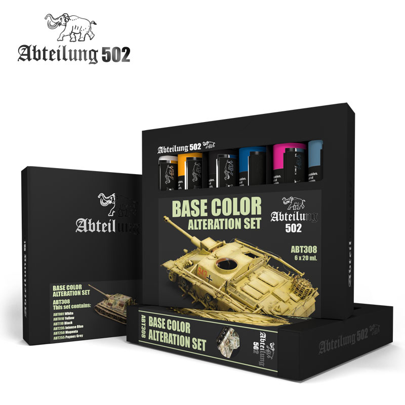 Abteilung 502 Base Color Alteration  Olieverfset - Abteilung 502 - ABT308