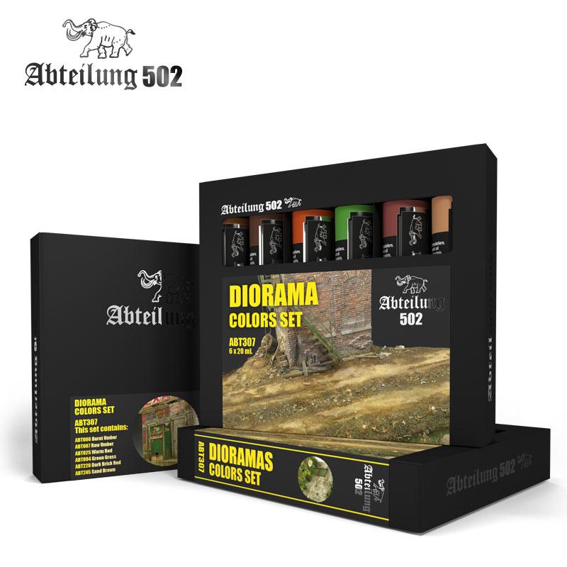 Abteilung 502 Dioramas Colors Olieverfset - Abteilung 502 - ABT307