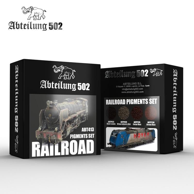 Abteilung 502 Railroad Pigment Set -Abteilung 502 - ABT413