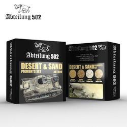 Desert & Sand Pigment Set -Abteilung 502 - ABT409