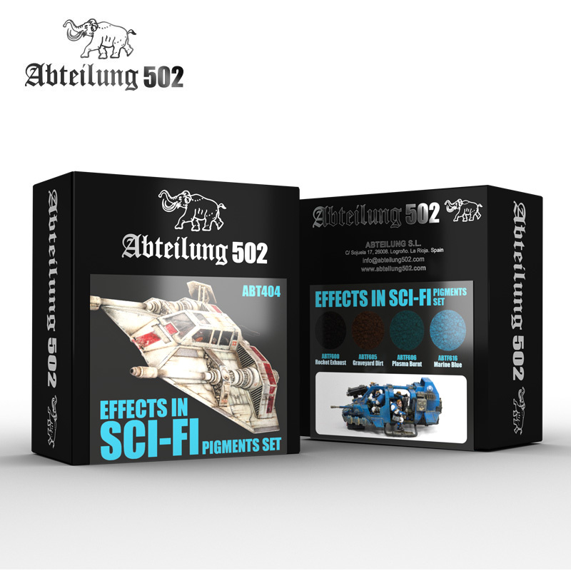 Abteilung 502 Effects In Sci-Fi Pigment Set -Abteilung 502 - ABT404