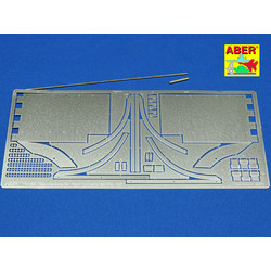 Tiger Ii - Vol.5- Front Fenders - Aber - Scale 1-16 - ABR 16038
