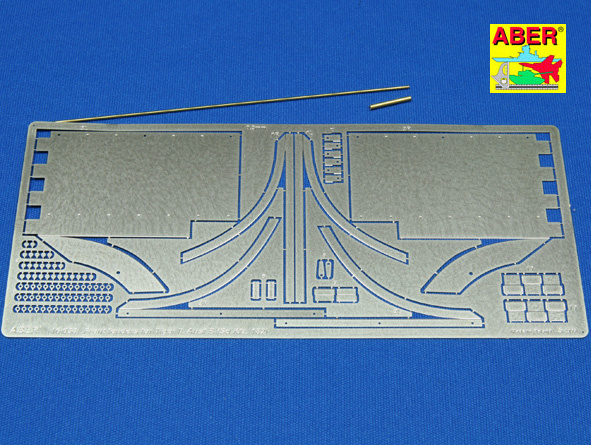 Aber Tiger Ii - Vol.5- Front Fenders - Aber - Scale 1-16 - ABR 16038