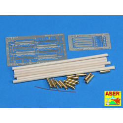 Barrel Cleaning Rods With Brackets For Tiger I -Early-Late - Aber - Scale 1-16 - ABR 16025