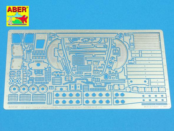 Aber Steyr 1500 - Engine & Suspension - Additional Set - Aber - Scale 1-35 - ABR 35 A90
