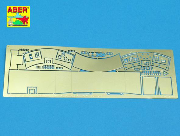 Aber Turret Stowage Bin For Pz.Kpfw. Vitigeri-Standard Model - Aber - Scale 1-35 - ABR 35 A102