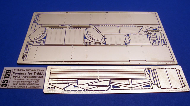 Aber Fenders For T-55A-Vol.2-Additional Set - Aber - Scale 1-35 - ABR 35129