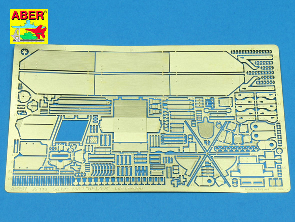 "Aber Sd.Kfz. 138-2 ""Hetzer"" - Late Version - Aber - Scale 1-35 - ABR 35113"