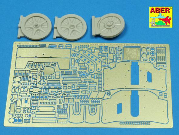 Aber Pak 97-38 German 7,5Cm A-T Gun (+ Resin Parts) - Aber - Scale 1-35 - ABR 35110