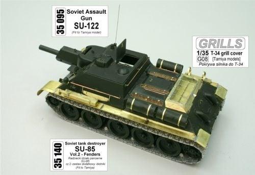 Aber Su-122 - Aber - Scale 1-35 - ABR 35095