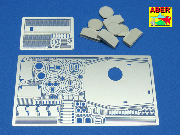 Aber Russian Heavy Tank Kv-Ii Vol.1 - Basic Set - Aber - Scale 1-35 - ABR 35166