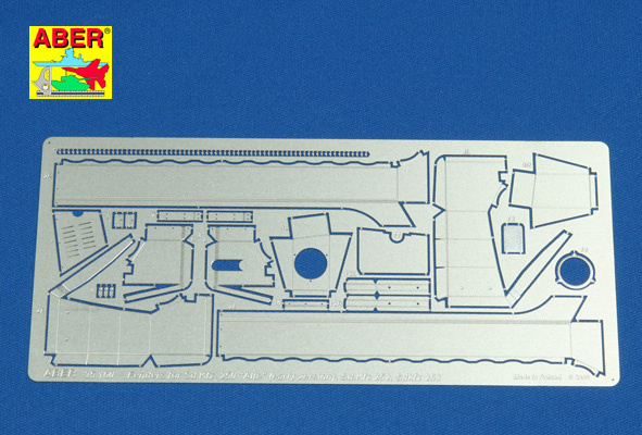 """Aber Armored Personnel Carrier Sd.Kfz.250-3""""Alte"""" Vol.2-Additional Set - Aber - Scale 1-35 - ABR 35160"""