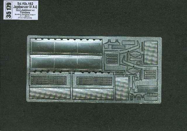 Aber Sd.Kfz.162 Jagdpanzeriva-0-Vol.2-Add. Set-Fenders - Aber - Scale 1-35 - ABR 35179