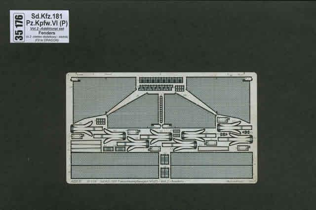 Aber Sd.Kfz.181Pz.Kpfw. Vi(P)-Vol.2-Add.Set-Fenders - Aber - Scale 1-35 - ABR 35176
