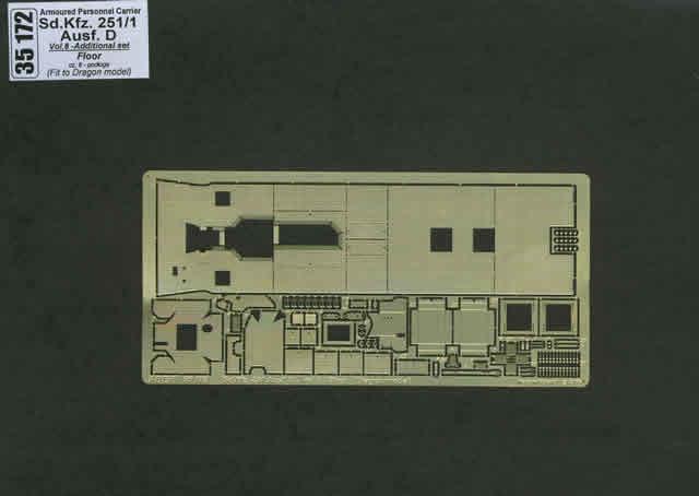 Aber Sd.Kfz.251-1 Ausf.D-Vol.6-Add.Set-Floor - Aber - Scale 1-35 - ABR 35172