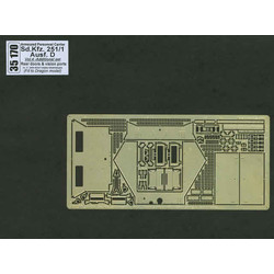 Sd.Kfz.251-1Ausf. D-Vol.4-Add.Set-Rear Doors & Vision Ports - Aber - Scale 1-35 - ABR 35170