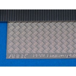 Engrave Plates (Modern Type  5X5 Strips, 1:24-25 Scale) - Aber - Scale 1-24 - ABR PP19