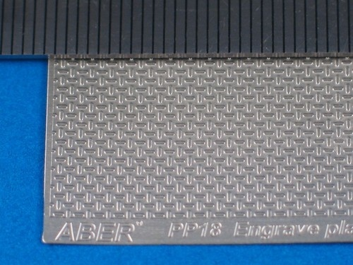 Aber Engrave Plates (German Type Iiww  1:24-25 Scale) - Aber - Scale 1-24 - ABR PP18