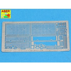Grilles For Russian Tank T-55A Also For Enigma - Aber - Scale 1-35 - ABR G29
