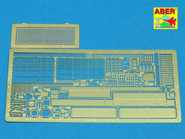 Aber T-34-76 Model 1941- Vol.1 Basic Set - Aber - Scale 1-48 - ABR 48008