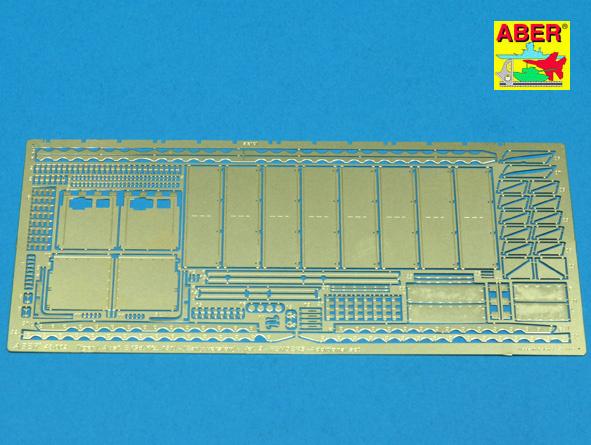 Aber Sd.Kfz.181 Pz.Kpfw.Vi Ausf.E Tigeri -Vol.2 -Fenders  - Aber - Scale 1-48 - ABR 48002