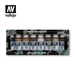 Panzer Aces Set No.2 - Vallejo - VAL-70123
