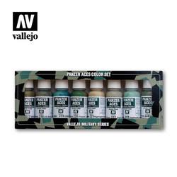 Panzer Aces Set No.3 - Vallejo - VAL-70126