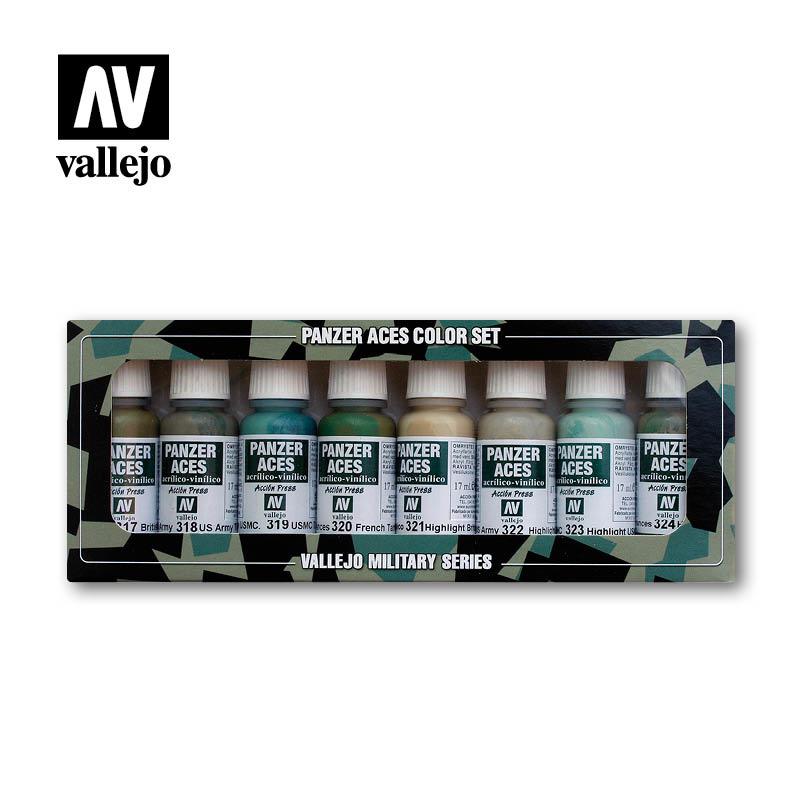 Vallejo Panzer Aces Set No.3 - Vallejo - VAL-70126