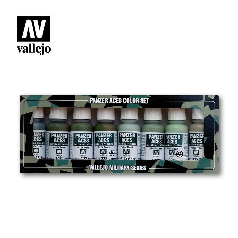 Vallejo Panzer Aces Set No.4 - Vallejo - VAL-70127