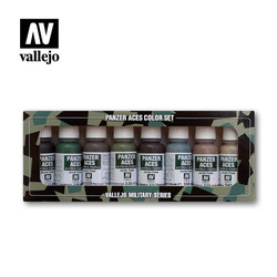 Panzer Aces Set No.5 - Vallejo - VAL-70128