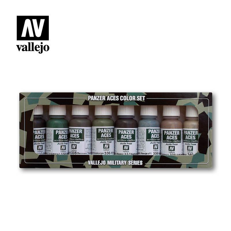 Vallejo Panzer Aces Set No.5 - Vallejo - VAL-70128