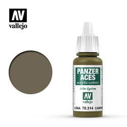 Panzer Aces Canvas - 17ml - Vallejo - VAL-70314