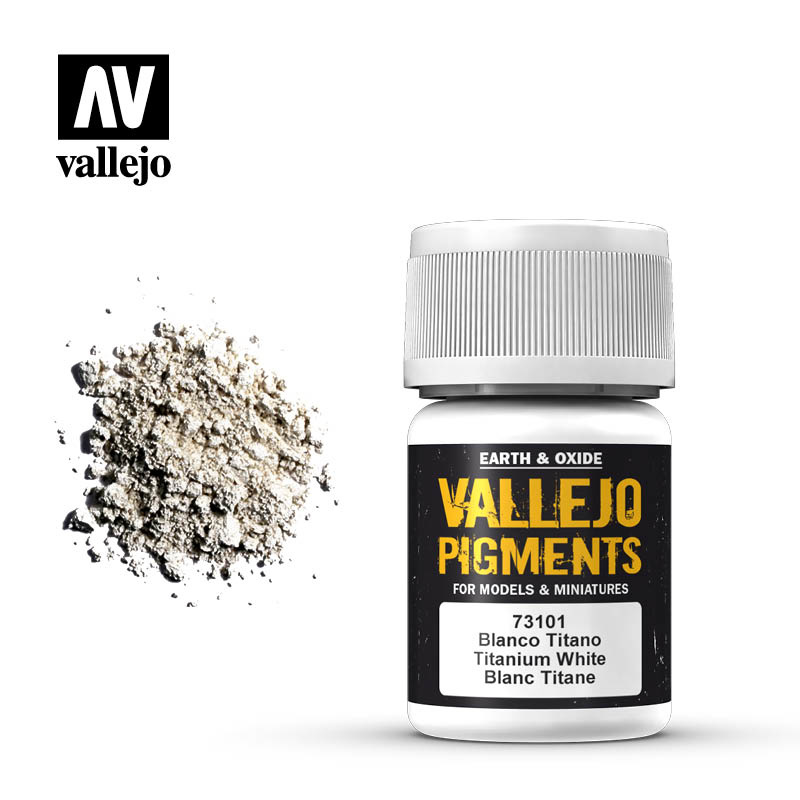 Vallejo Titanium White Pigment - 35ml - Vallejo - VAL-73101