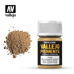 Dark Yellow Ocre Pigment - 35ml - Vallejo - VAL-73103