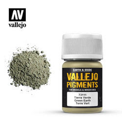 Green Earth Pigment - 35ml - Vallejo - VAL-73111